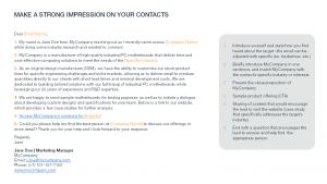 Sample Prospection Emails for B2B