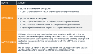 US Trademark Basics_Fee Structure