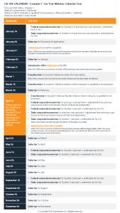 US Tax Calendar_Example 1_Tax Year Matches Calendar Year