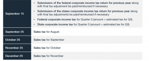 US Tax Calendar_Example 3_Tax Year With an Extension part 2