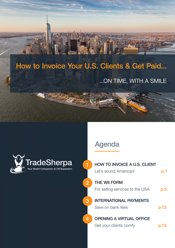 SMART GUIDE USA: How to Invoice Your US Clients and Get Paid on Time, with a Smile