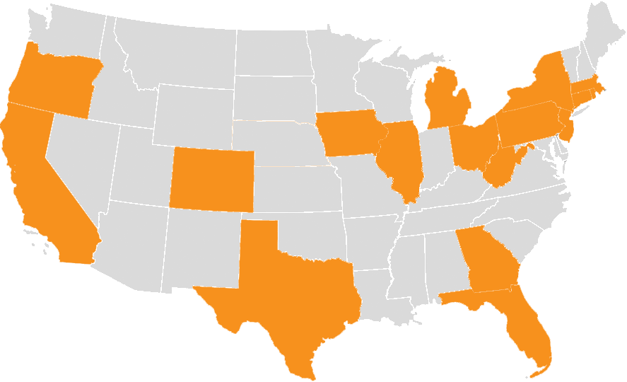 Popular States for US Expansion